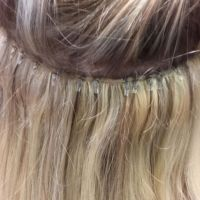 Bild Haarverdichtung mit Tressen
