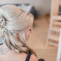Bild Braut- und Hochzeitsfrisur